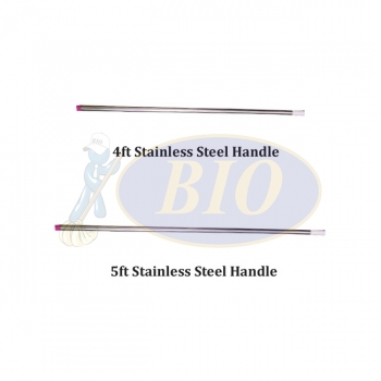 4ft-5ft Stainless Steel Handle