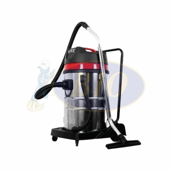 70L Wet & Dry Vacuum Cleaner (Stainless Steel)