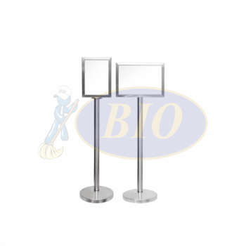 Stainless Steel A4 Display Stand