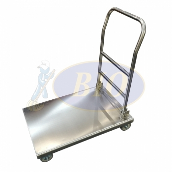 Stainless Steel Platform Trolley (Foldable)