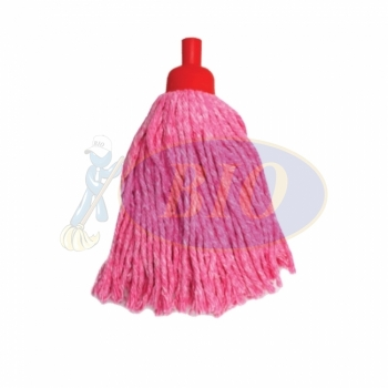 Red Colour Round Mop 300gm