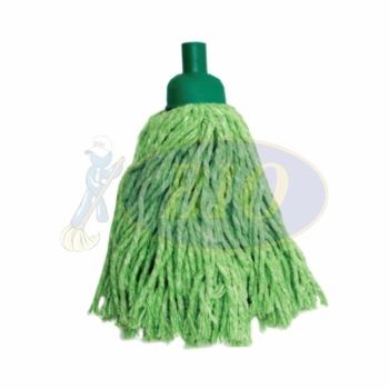 Green Colour Round Mop 300gm