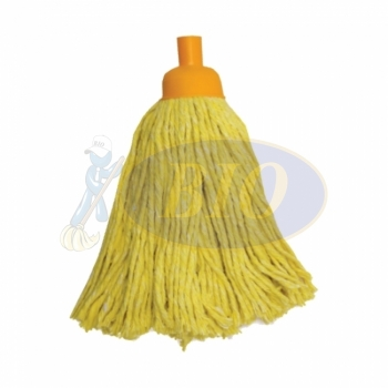 Yellow Colour Round Mop 300gm