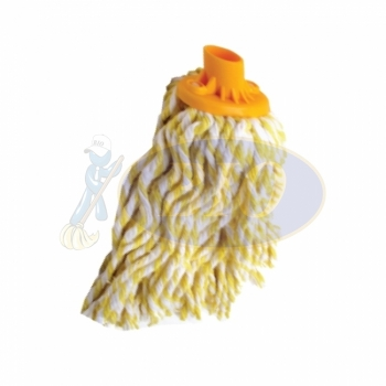 Semi Yellow Colour Round Mop 300gm