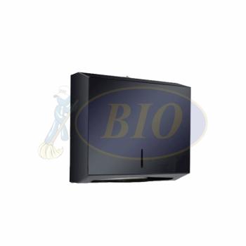 Black Stainless Steel Multi Fold Dispenser (Small)