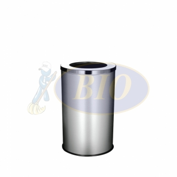 Stainless Steel Round Bin c/w Open Top (SS 107)