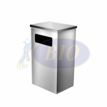 SS111 Stainless Steel Bin Rectangular C/W Flat Top
