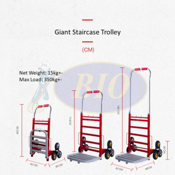 Giant Staircase Hand Trolley
