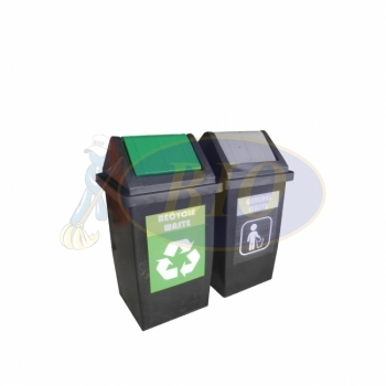 Flip Recycle Bin 2 in 1