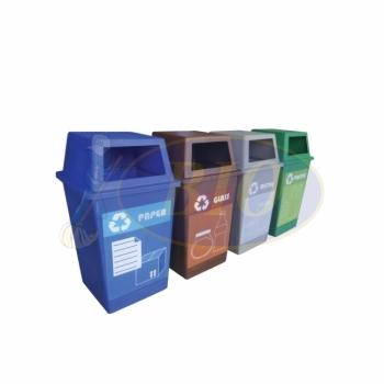 Pulau Recycle Bin 4 in 1