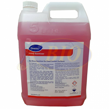 Diversey Disinfectant Cleaner J-512 (Food Contact Surfaces) 5L
